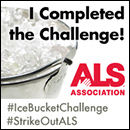 ALS awareness #IceBucketChallenge